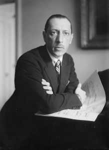 Igor Stravinski.