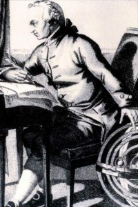 Ilustración de Immanuel Kant (Gtres).