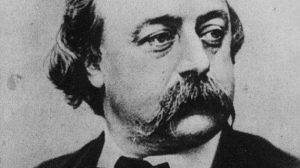 Gustave Flaubert, novelista principalmente conocido por su obra Madame Bovary (Dominio Público).