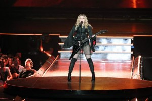 Madonna canta en el Brisbane Entertainment Centre de Bisbane, Australia (Gtres).
