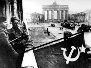 Final de la Segunda Guerra Mundial.
