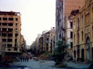 Guerra civil libanesa.