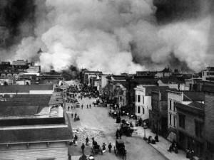 Terremoto de San Francisco de 1906.