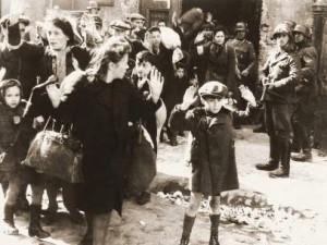 Levantamiento del gueto de Varsovia.