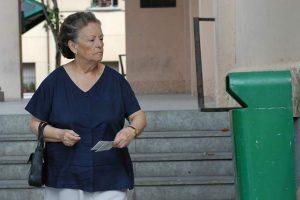 La actriz, María Galiana, en una escena de la película Tapas (Archivo).