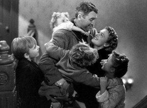 Fotograma de la película '¡Qué bello es vivir!', de Frank Capra (Archivo).