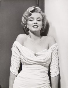 Marilyn Monroe (National Portrait Gallery).