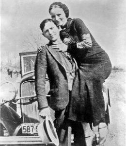 Bonnie y Clyde.