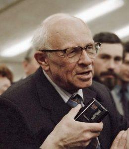 Andrei Sakharov.