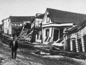 Gran terremoto de Chile.