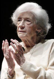 La escritora Ana María Matute (EFE).