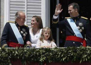Juan Carlos I, el día de la proclamación de Felipe VI (Gtres).
