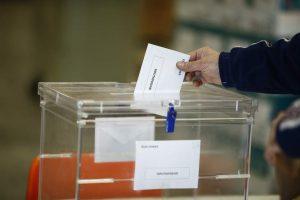 Urna de unas elecciones generales (Europa Press).