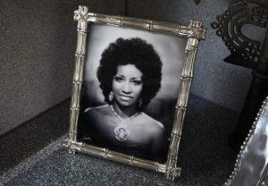 Retrato de Celia Cruz (imagen de archivo)