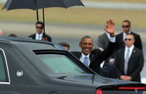 Imagen de la histórica visita de Obama a Cuba en 2015 (ARCHIVO)