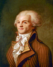 Maximilien Robespierre.