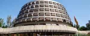 Edificio sede del Tribunal Constitucional (EFE).