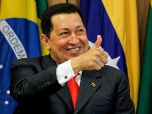Presidente de Venezuela Hugo Chávez.