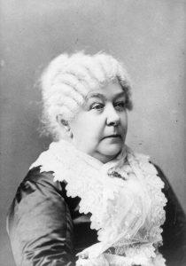 Elizabeth Staton, una de las fundadores del movimiento feminista estadounidense.