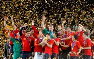 España campeona del Mundial de Sudáfrica