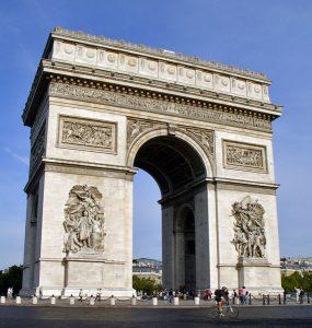 Arco del triunfo París.