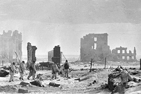 Batalla de Stalingrado en la Segunda Guerra Mundial.