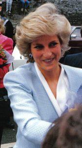 Diana de Gales, conocida como Lady Di.