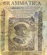 "Ejemplar de ""Gramática de la lengua castellana"" (WIKIPEDIA)"