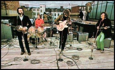 The Beatles en su último concierto