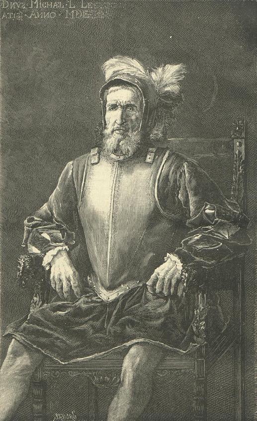 Miguel López de Legazpi.