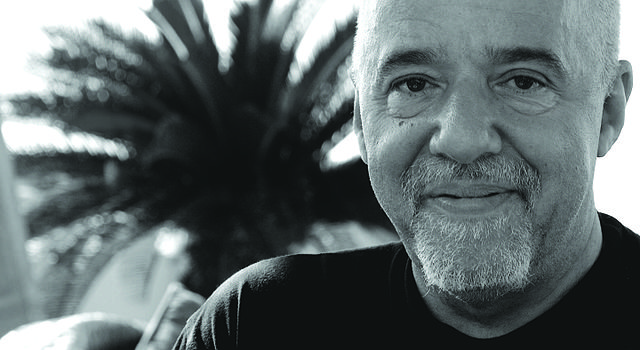 Imagen de Paulo Coelho (WIKIPEDIA).
