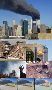 Atentado del 11 de septiembre contra las Torres Gemelas.