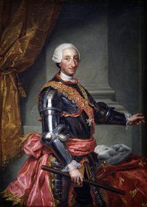 Carlos III de la casa Borbón.