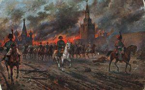 El incendio de Moscú.