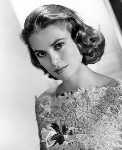 La actriz Grace Kelly.