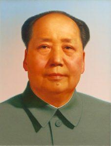 El líder del Partido Comunista Chino, Mao Zedong.