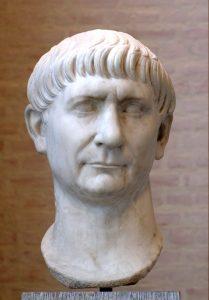 El emperador de origen hispánico Trajano.