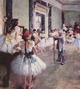 Bailarinas de Degas