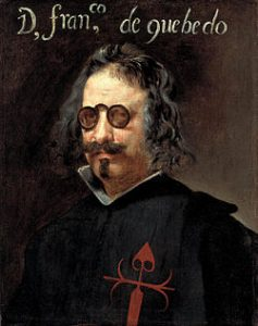 El poeta español Francisco de Quevedo y Villegas.