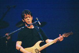 El cantante estadounidense Lou Reed.