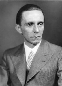 Goebbels (Deutsches Bundesarchiv (Archivo Federal de Alemania)).