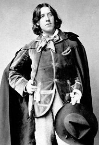 Retrato de Oscar Wilde (WIKIPEDIA).