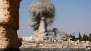Destrucción en Palmira.