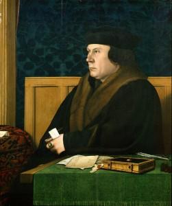 Thomas Cromwell, por Hans Holbein, el joven.