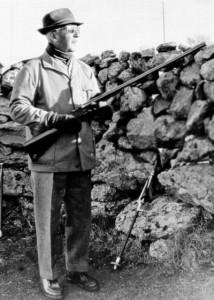 Franco, de caza en la provincia de Toledo (GTRES)