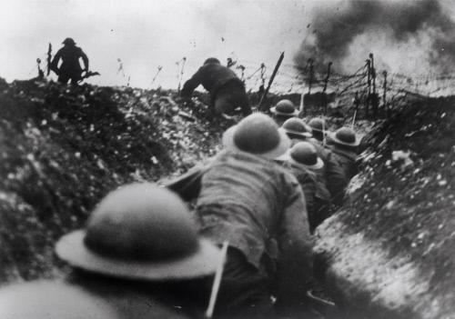 Fotografía de la Batalla del Somme, durante la Primera Guerra Mundial (GTRES)