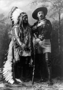 Buffalo Bill y Toro Sentado (1885).