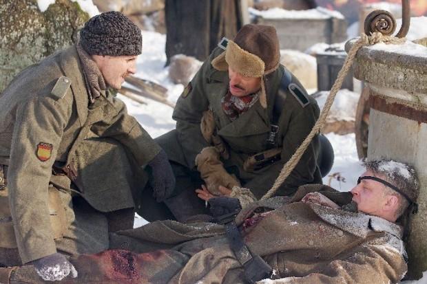 Fotograma de la película 'Sangre en la nieve' basada en las historias de Arturo Andrade, escritas por Ignacio del Valle.