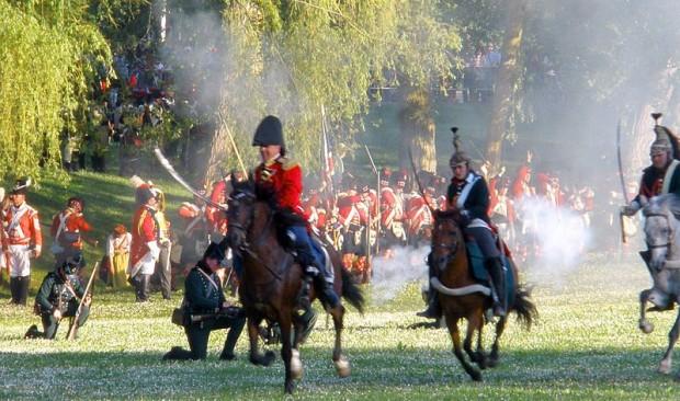 Recreación histórica de la Batalla de Vitoria (2013)