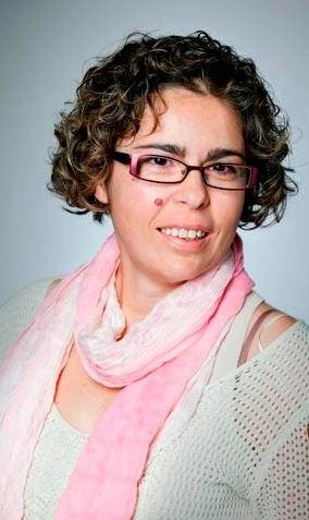 La escritora Elena Garquin.